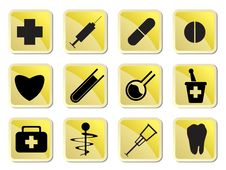 Free Medical Icon Royalty Free Stock Image - 10080466
