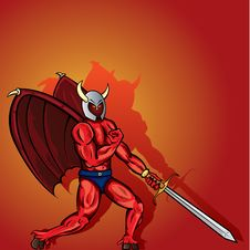 Free Devil´s Warrior Stock Photography - 10080712