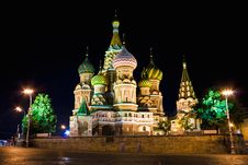 Free Saint Basil Cathedral Royalty Free Stock Photo - 10080835