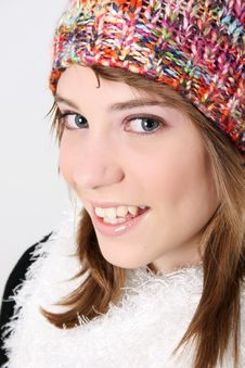Free Winter Teen Royalty Free Stock Photo - 10080965