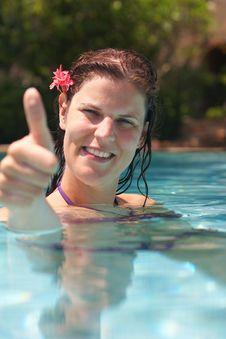 Free Pool Beauty Stock Image - 10081201