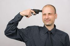 Suicide Royalty Free Stock Photography