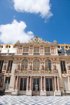Paris Building Exterior Stock Photo