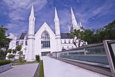 Free St Andrew Church Of Singapore Stock Image - 10082191