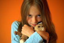 Free Thoughtful Girl Stock Image - 10082301