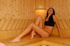 Free Sauna Royalty Free Stock Photography - 10082697