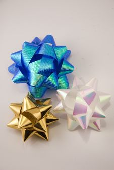Free 3 Bows Stock Photography - 10082772
