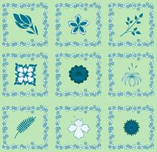 Free Seamless Tablecloth Pattern Royalty Free Stock Image - 10083706