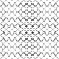 Free Vector Curved Seamless Pattern Royalty Free Stock Photos - 10083718