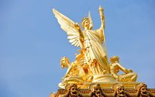 Statue Opera Stock Photography
