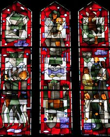 Free Stained Galss Window Stock Image - 10084421