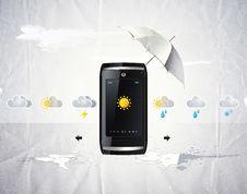 Free Cellular Telephone Stock Image - 10084461