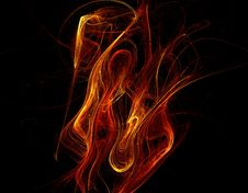 Free Abstract Flame Background 8 Royalty Free Stock Images - 10084869