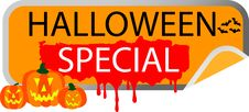 Free Button Halloween Special Stock Photography - 10084882