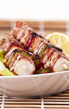 Free Chicken Kebab Stock Images - 10085014