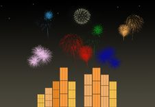 Free Colorful Fireworks Stock Images - 10085364