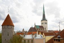 Tallinn View, Estonia Royalty Free Stock Photography