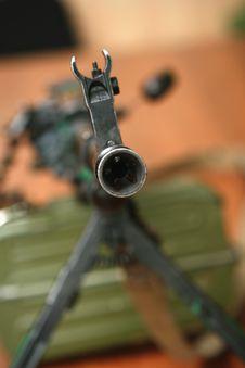 Free Machine Gun Kalashnikov Royalty Free Stock Images - 10085959
