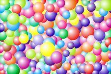 Free Varicoloured Balls. Stock Image - 10087011