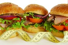 Free Sandwiches And Diet Stock Images - 10087234