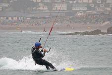 Free Kitesurfer Stock Photography - 10087302