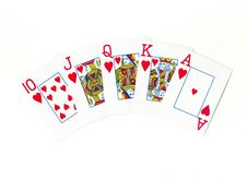 Free Playing Cards Royalty Free Stock Photos - 10087778
