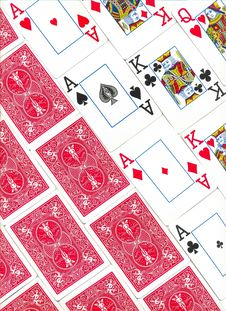 Free Playing Cards Royalty Free Stock Images - 10087949