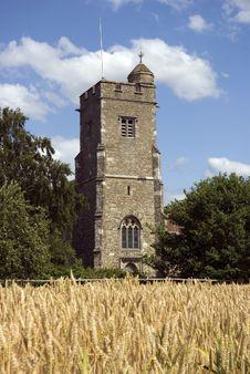 Parish Church Of St Martin Ryarsh Stock Image