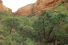 Kings Canyon, Australia Royalty Free Stock Photos