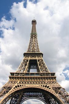 Free Eiffel Tower Royalty Free Stock Image - 10089436