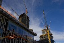 Free Urban Building Under Construction Stock Images - 10089484