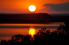 Free Road Trip: Santa Rosa Lake Royalty Free Stock Photo - 100821745