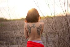 Free Girl, Human Hair Color, Shoulder, Sunlight Stock Photography - 100829252