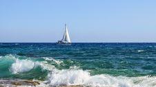 Free Sea, Wave, Ocean, Wind Wave Royalty Free Stock Photo - 100831105