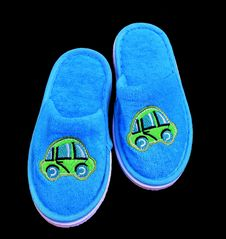 Free Footwear, Blue, Aqua, Slipper Stock Images - 100832144