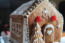 Free Gingerbread House, Dessert, Gingerbread, Food Stock Images - 100832314