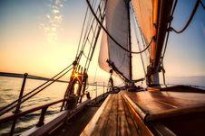 Free Sailing Ship, Sky, Sea, Tall Ship Royalty Free Stock Photo - 100832825