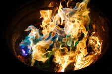 Free Flame, Fire, Organism, Computer Wallpaper Stock Photos - 100840193