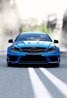 Free Mercedes Benz Luxury Saloon Stock Photos - 100875583