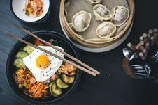 Free Korean Bibimbap Royalty Free Stock Images - 100885199