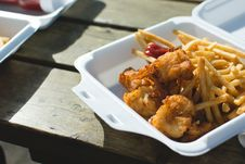 Free Fish And Chips Royalty Free Stock Photos - 100885418