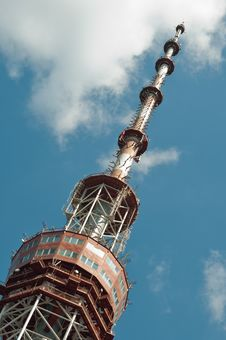 Free Television Tower Stock Image - 10091721