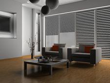 Free Living Room Stock Image - 10091831