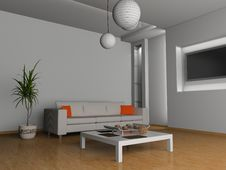 Free Living Room Royalty Free Stock Photography - 10091847
