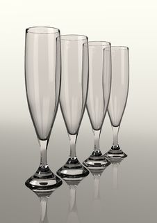 Free Champagne Glasses Stock Photography - 10092532
