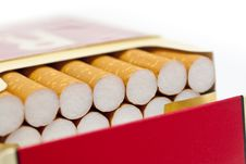 Free Single Or Pack Of Cigarettes Stock Photos - 10092693