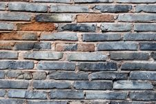 Free Old Brick Wall Royalty Free Stock Photography - 10092747