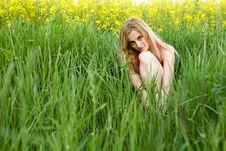 Free In Grass Stock Photo - 10093050