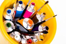Free Tube Of Paint Stock Photography - 10093342
