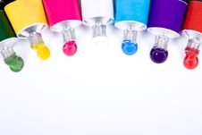 Tube Of Paint Royalty Free Stock Photography